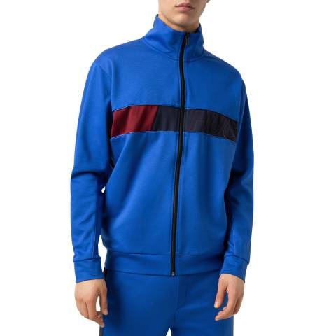 HUGO Blue Dalais Zipped Sweatshirt