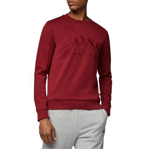 BOSS Red Salbo Logo Sweatshirt