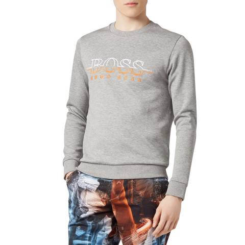 BOSS Grey Salbo Sweatshirt