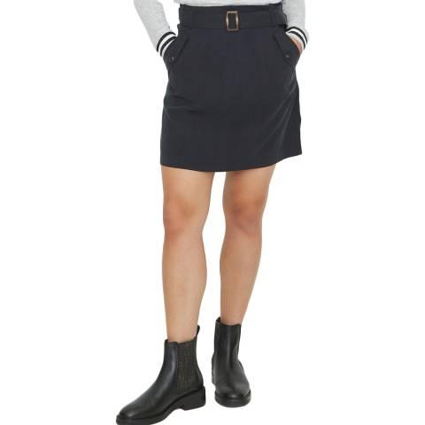 Oliver Bonas Black  Utility Skirt