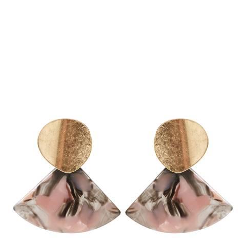 Oliver Bonas Multi Mini Monro Earrings