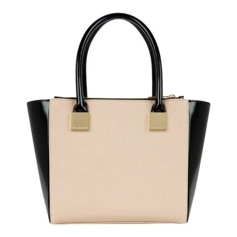 Ted Baker Taupe Avah Crosshatch Mini Tote Bag