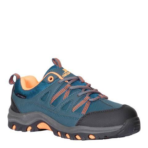 Trespass Kid's Petrol Blue Gillon Low Cut II Walking Shoe