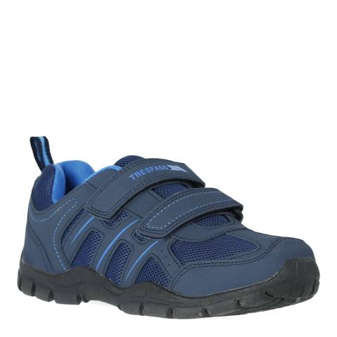 Trespass Kid's Blue Lomaa Velcro Trainers