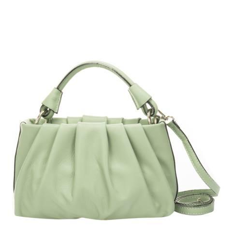 Giorgio Costa Mint Leather Top Handle Bag