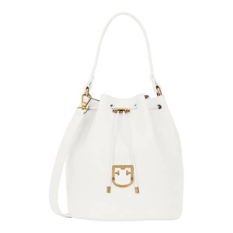 Furla Chalk Corona Small Drawstring Bag
