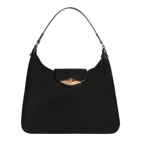 Furla Black Eye Large Hobo Bag