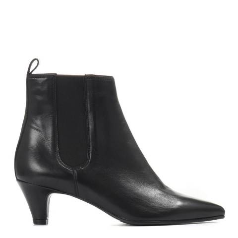 JONES BOOTMAKER Black Smart Ankle Boots