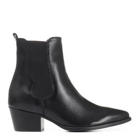 JONES BOOTMAKER Black Smart Ankle Boots