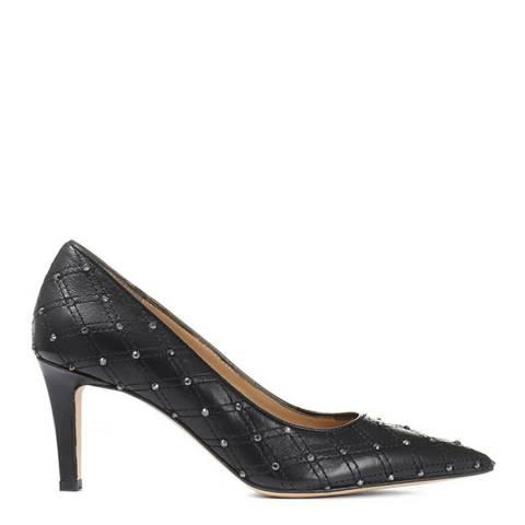 JONES BOOTMAKER Black Sparkle Smart Court Shoes