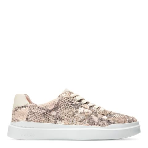 Cole Haan Pink/Ivory Grandpro Rally Sneaker
