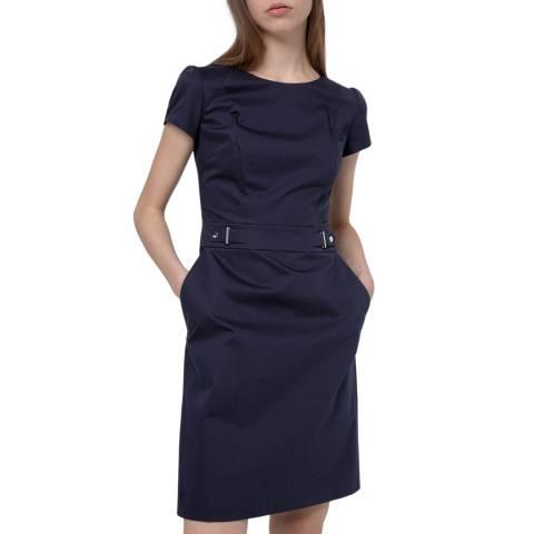 HUGO Navy Kelisi Dress