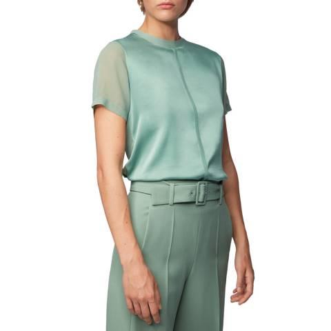 BOSS Green Efrona Short Sleeve Top