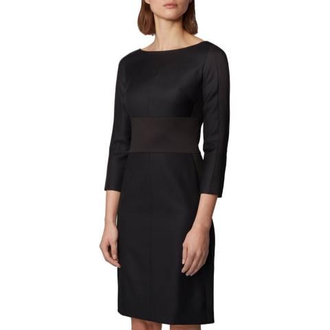 BOSS Black Denalyn Wool Blend Dress