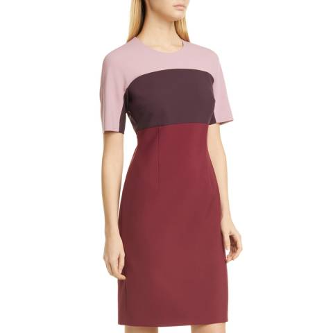 BOSS Red Donena Colourblock Dress