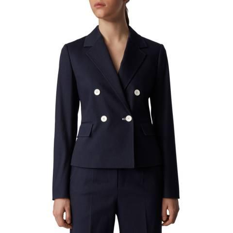 BOSS Navy Jalama Stretch Suit Jacket