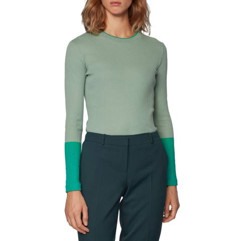 BOSS Green Emalee Long Sleeve Top
