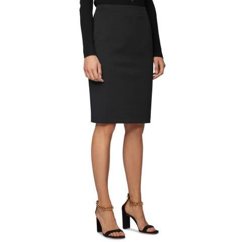 BOSS Black Vaxine Stretch Suit Skirt