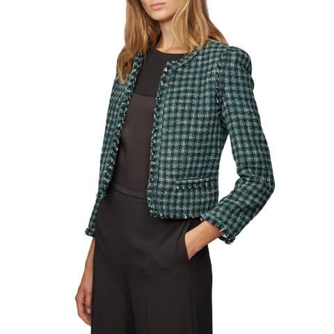 BOSS Green Check Johella Jacket