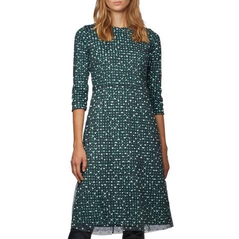 BOSS Green Print Ebriella Dress