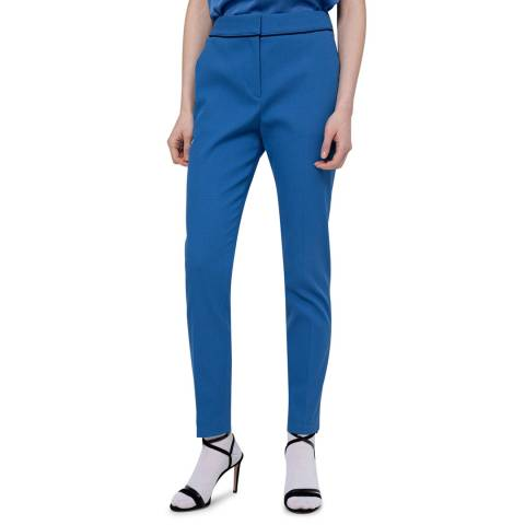 HUGO Blue The Cropped Stretch Suit Trousers