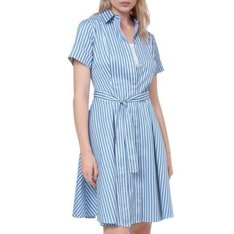 HUGO Blue Ekaliana Shirt Dress