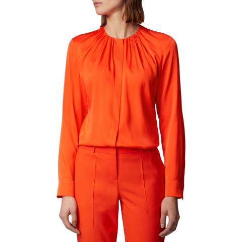 BOSS Orange Banora Silk Blend Blouse