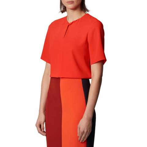 BOSS Orange Iagela Short Sleeve Top