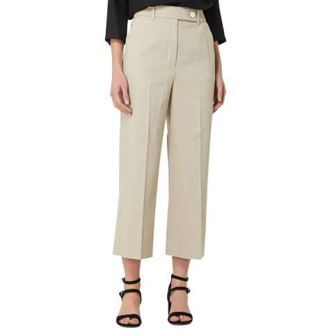 BOSS Ivory Tapima Stretch Trousers