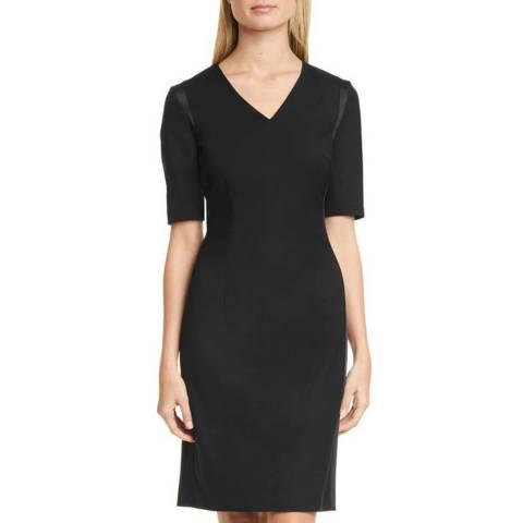 BOSS Black Datiso Wool Blend Dress