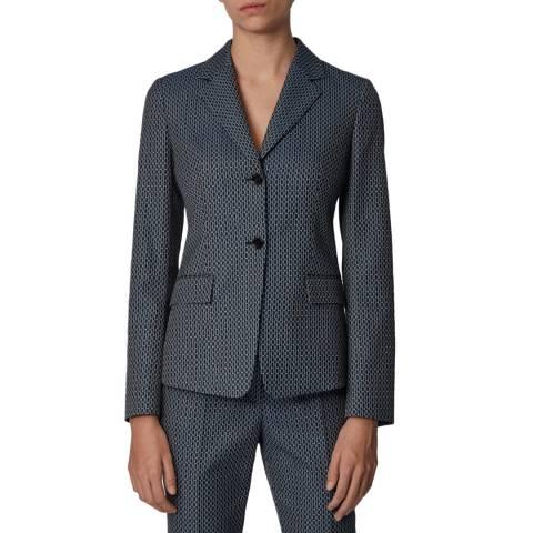 BOSS Charcoal Jatinda4 Stretch Suit Jacket