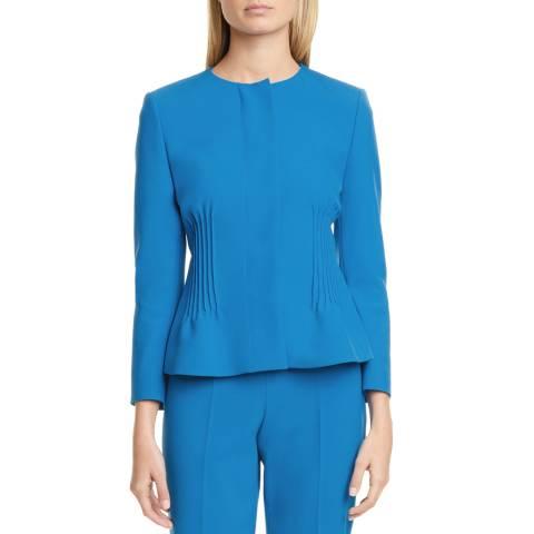 BOSS Blue Jetucka Peplum Jacket