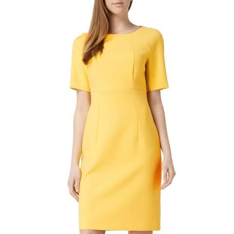 BOSS Yellow Dolobus1 Dress