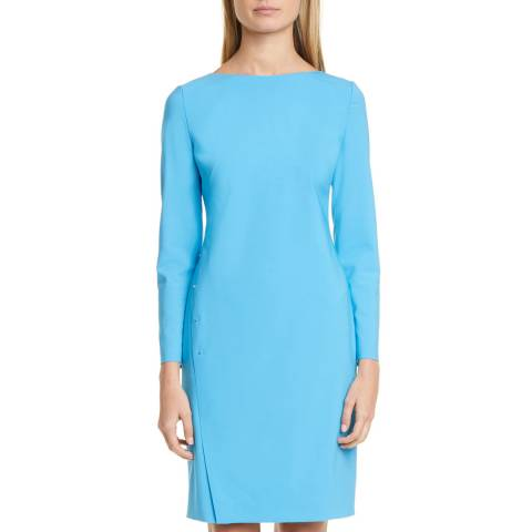 BOSS Blue Diwoma Wool Blend Dress