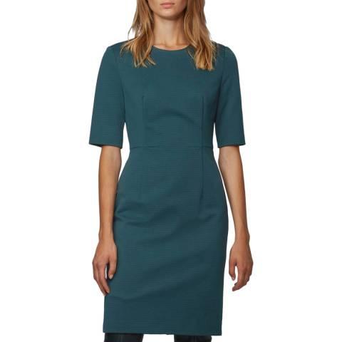BOSS Dark Green Daxine Dress