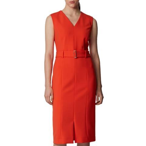 BOSS Orange Dadorina Belted Dress