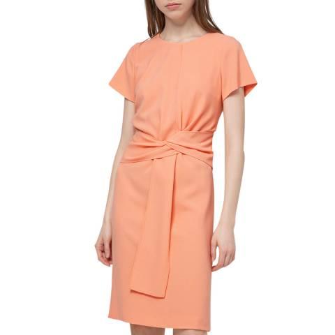 HUGO Coral Kilone T-Shirt Dress