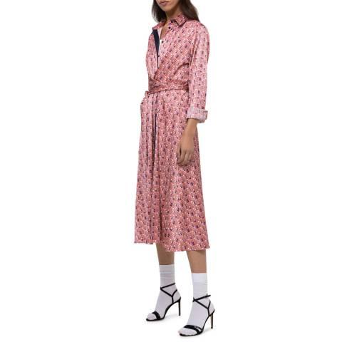 HUGO Pink Print Kosea-1 Dress