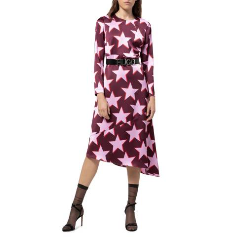 HUGO Purple Star Komerla-1 Dress