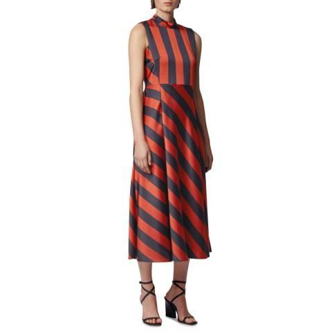 BOSS Red Stripe Daltina Dress