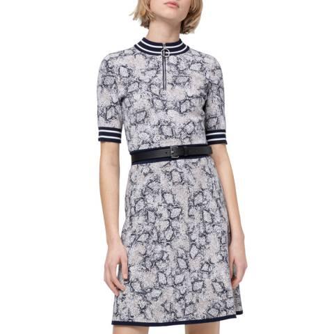 HUGO Blue Print Semele Dress