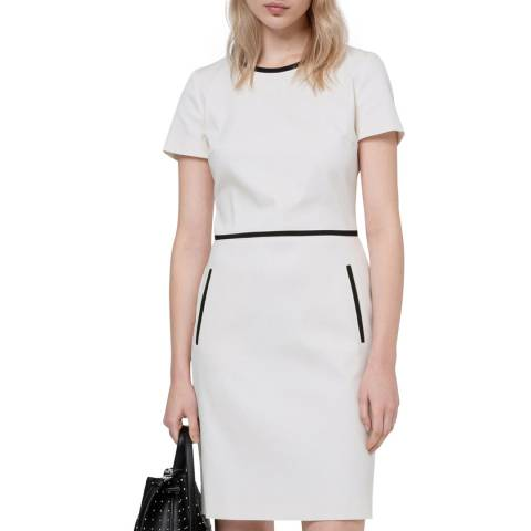 HUGO White Kidani Dress