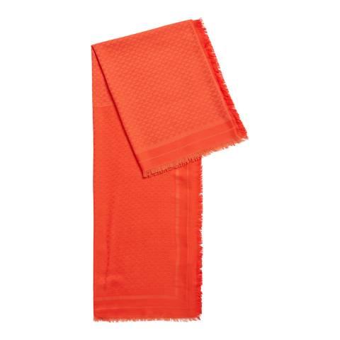 BOSS Orange Lunassa Wool Blend Scarf