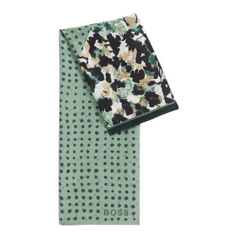 BOSS Multi Print Larola Silk Scarf