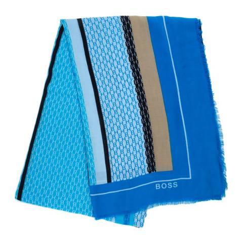 BOSS Blue Print Lore Scarf