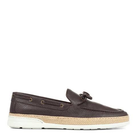 JONES BOOTMAKER Brown Casual Slip On Loafers