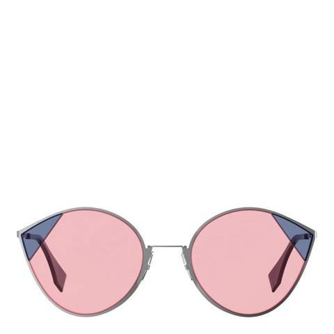 Fendi Women's Silver/Pink Fendi Sunglasses 60mm