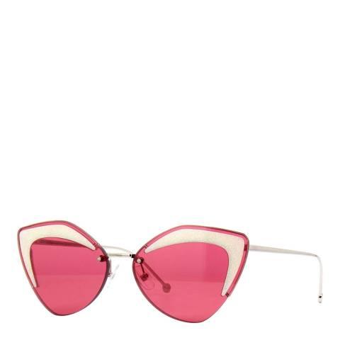 Fendi Women's Red Fendi Sunglasses 66mm
