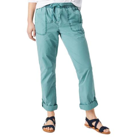 White Stuff Blue Cargo Trouser
