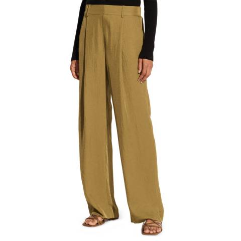 Vince Camel Wide Leg Relaxed Trousers